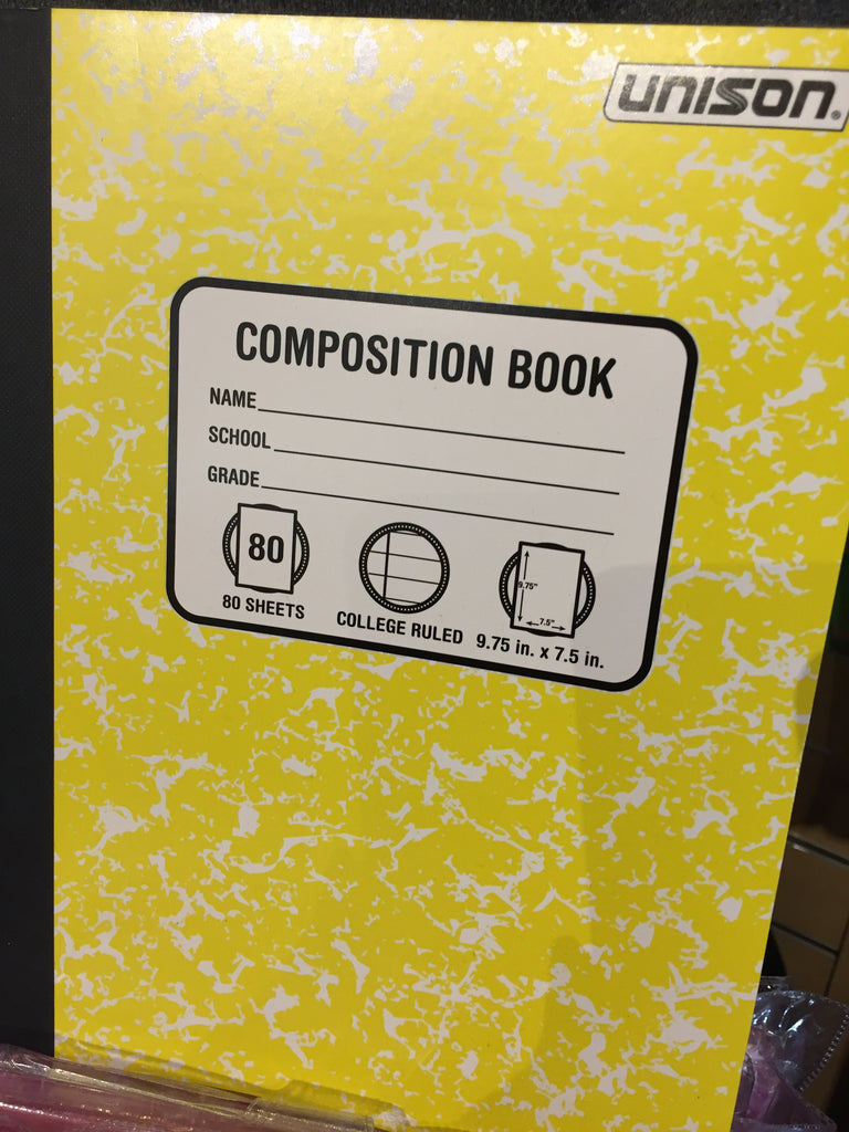Composition Notebook - College ruled