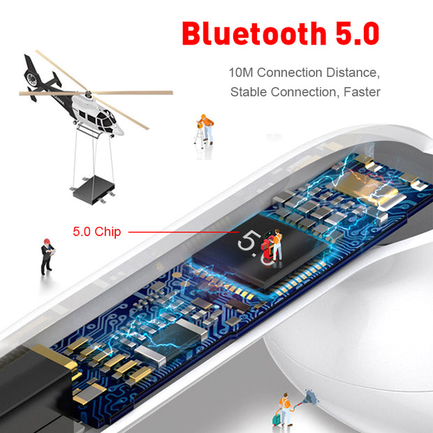 Original i12 TWS Wireless Bluetooth Earphone