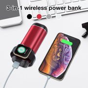 3 In1 Magnetic Wireless Charger for Apple Airpods/Watch/iPhone