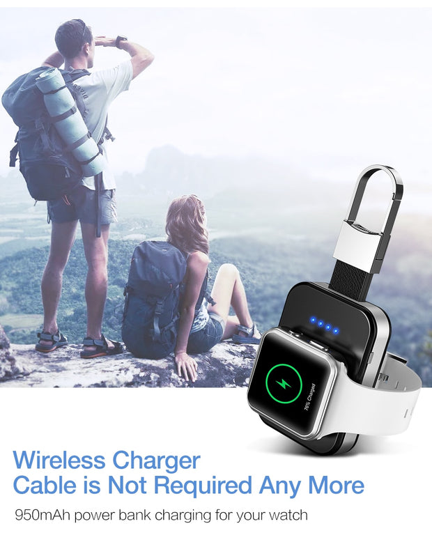 Keychain Wireless Charger For Apple Watch