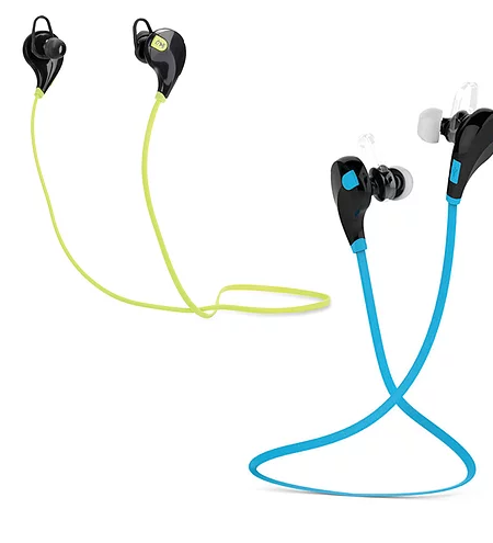 2 Pack Wireless Bluetooth Sport Headset (Sweat-proof Design)