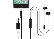 Earphones with Lightning Cable and Charge Port