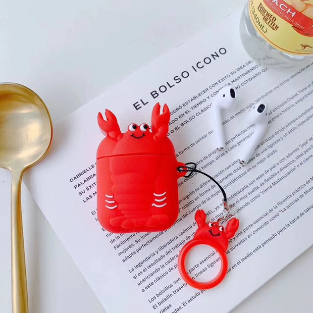 Cute Soft Silicone Case for Apple AirPods