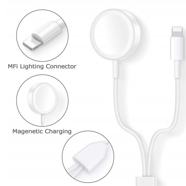 Charger Cable for Apple iPhone & Watch