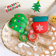 Christmas Silicone Earphone Case For Apple Airpods