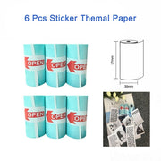 PeriPage PAPERANG Thermal Paper label Paper Sticker Paper For Photo Printer