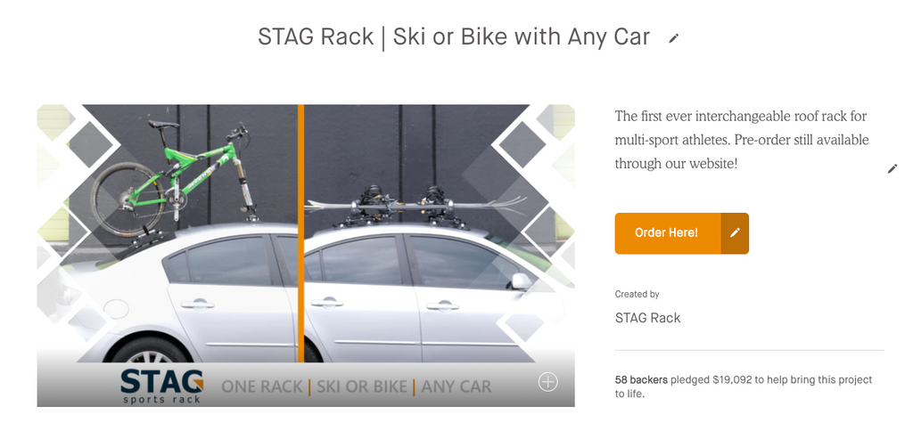 STAG RACK – FOR THE OUTDOOR ENTHUSIAST