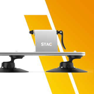 STAG Ski Rack Helps you Carry 4 board or 4 skis