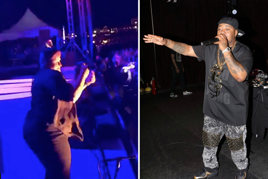 Sign Language Interpreter steals show from rapper, Twista