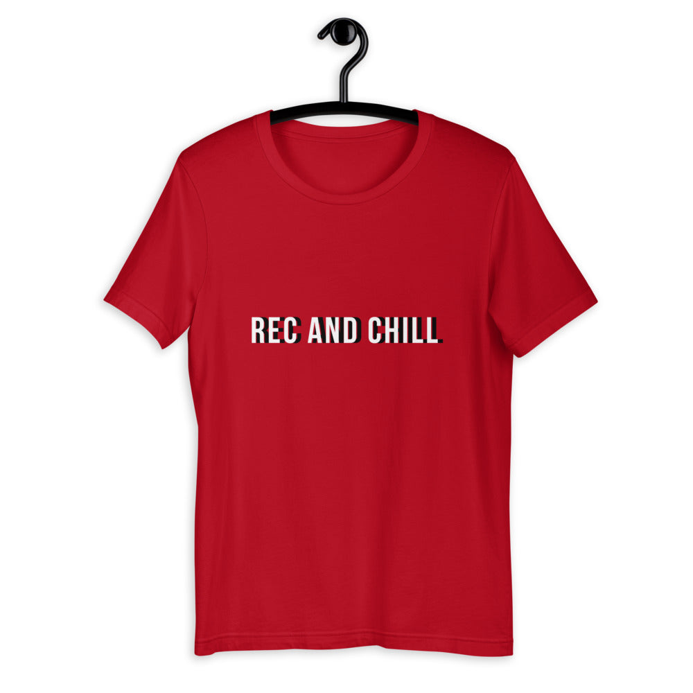 Rec and Chill Holiday Tee