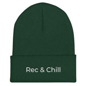 Rec and Chill Cuffed Beanie