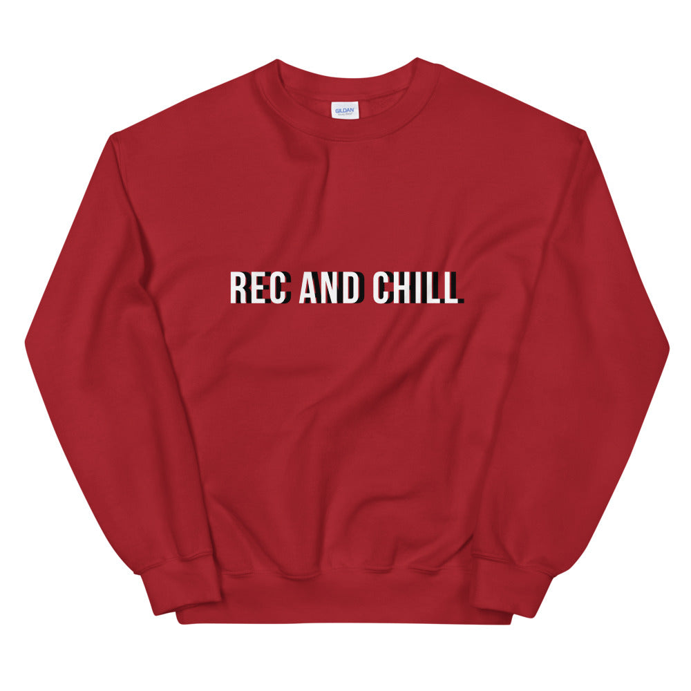 Rec and Chill Holiday Sweatshirt