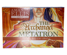 Load image into Gallery viewer, Archangel Metatron Self Mastery Oracle Cards