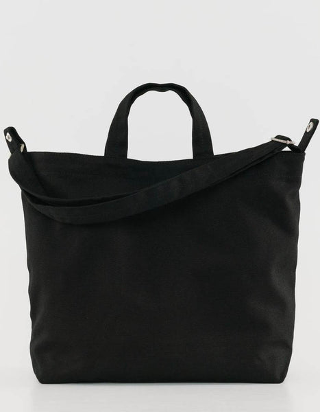 Horizontal Duck Bag in Black