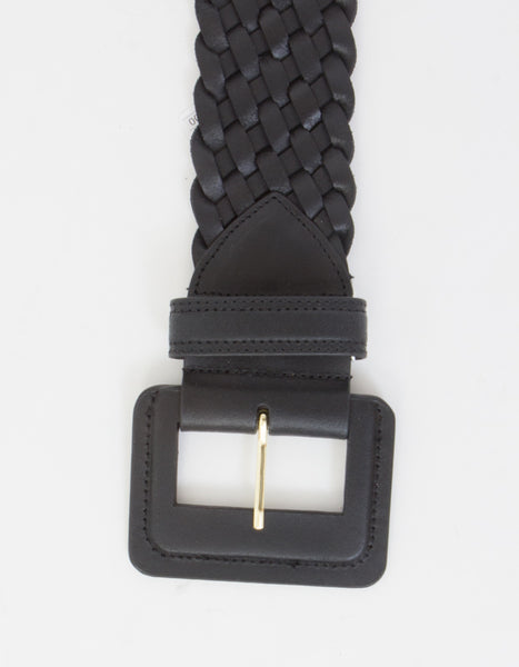 Tiny Twist Belt in Black