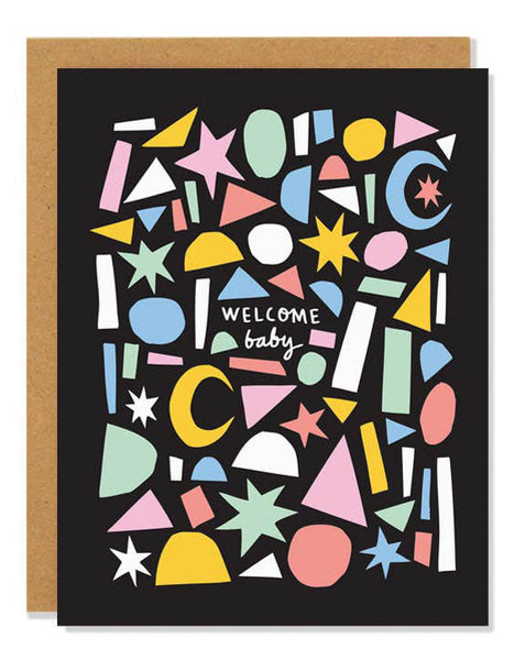 Welcome Baby Card