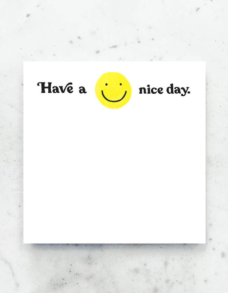 Have a Nice Day Deskpad
