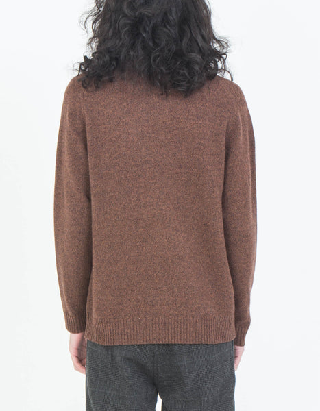 Wednesday Sweater in Brown
