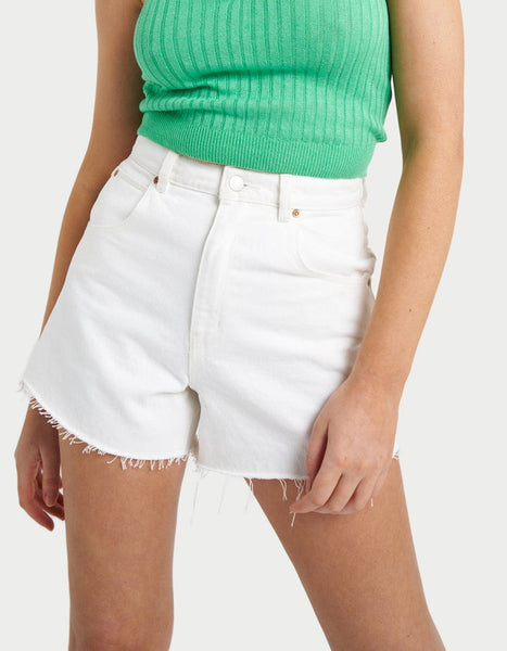 Organic Crew Sweater in Trade Green