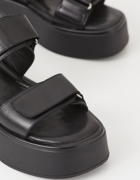 Dioon Sandal in Black