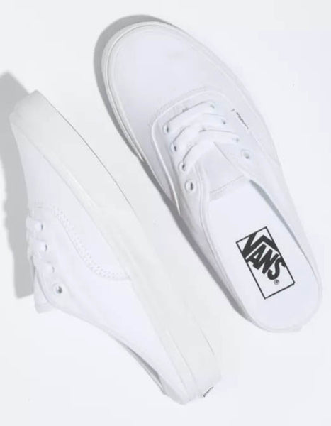 Authentic Mule in White