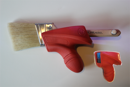 FREEHAND™ (DIY) Anti-Fatigue Paint Brush Handle