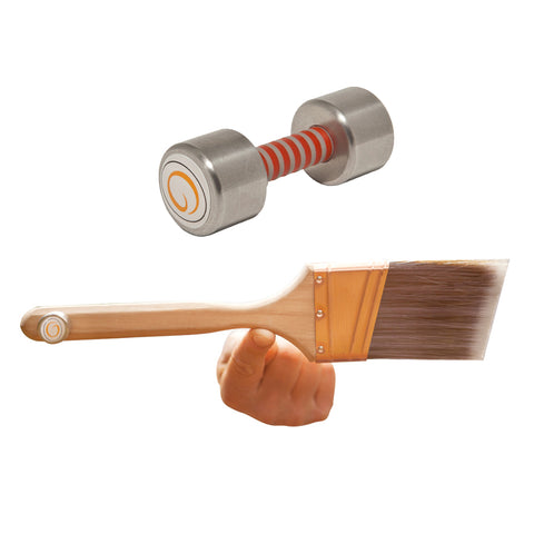"Paintbrush Counterweights - 16 grams    (1"" - 2"" Brushes)"