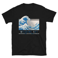 Load image into Gallery viewer, KANAGAWA WAVE ARTISTIC ALTERNATIVE T-SHIRT - Mrs Freaks
