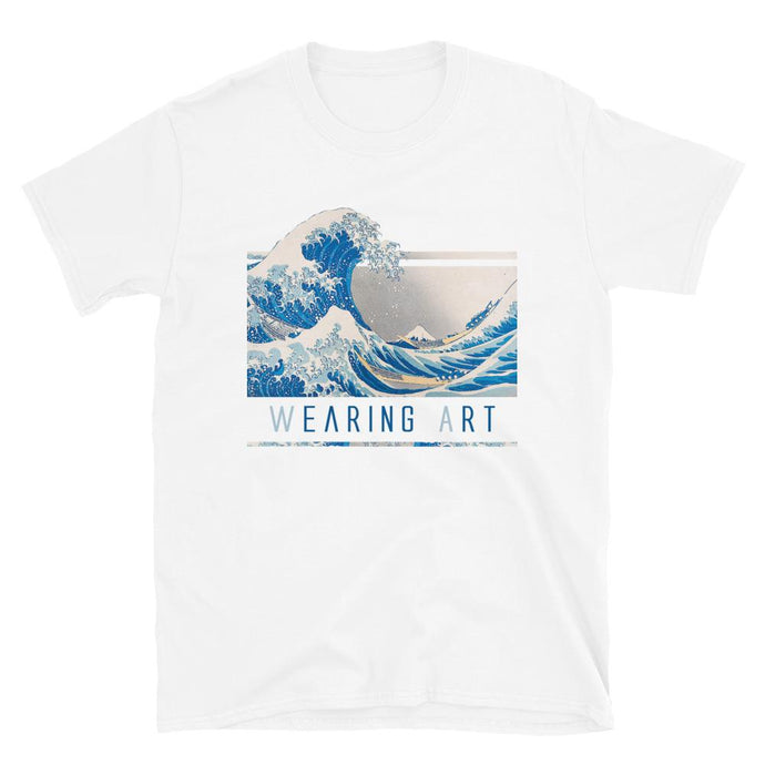 KANAGAWA WAVE ARTISTIC ALTERNATIVE T-SHIRT UNISEX - Mrs Freaks