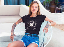 Load image into Gallery viewer, LUNAR CAT GODDESS WITCH T-SHIRT - Mrs Freaks