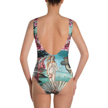 Load image into Gallery viewer, ARTISTIC ALTERNATIVE FLOWERFUL VENUS ONE-PIECE SWIMSUIT - Mrs Freaks