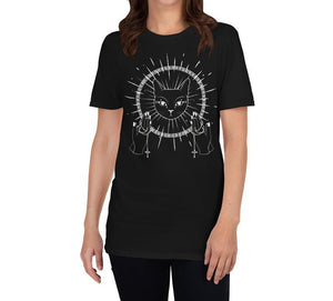 RADIAN CAT GODDESS DARK WITCH T-SHIRT - Mrs Freaks