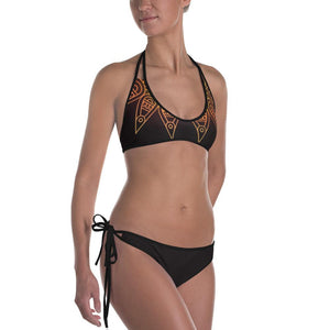 CROWS AND SUN REVERSIBLE BIKINI - Mrs Freaks