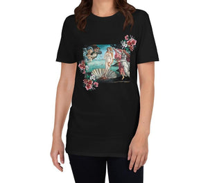 FLOWERFUL VENUS ARTISTIC ALTERNATIVE T-SHIRT - Mrs Freaks