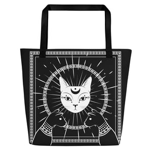LUNAR CAT GODDESS WITCH BAG - Mrs Freaks