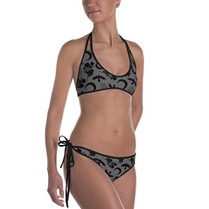 CROWS AND SUN REVERSIBLE BIKINI - Mrs.Freaks