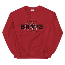 Load image into Gallery viewer, UNISEX SWEATSHIRT WHITE OR RED ALWAYS STRONGER SNAKE - Mrs.Freaks
