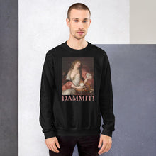 Load image into Gallery viewer, PAINTING PRINTED DAMMIT SWEATSHIRT UNISEXE - Mrs Freaks