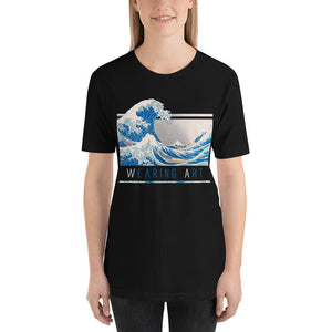 KANAGAWA WAVE ARTISTIC ALTERNATIVE T-SHIRT UNISEX - Mrs.Freaks