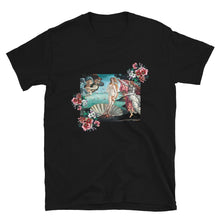 Load image into Gallery viewer, FLOWERFUL VENUS ARTISTIC ALTERNATIVE T-SHIRT - Mrs Freaks