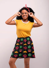 Load image into Gallery viewer, DARK QUEEN SKATER SKIRT - Mrs Freaks