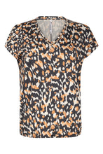 Afbeelding in Gallery-weergave laden, Zoso Allover printed Blouse 211 Oliva