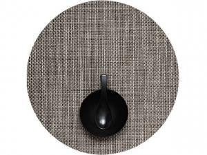 Round Basketweave Table Mats