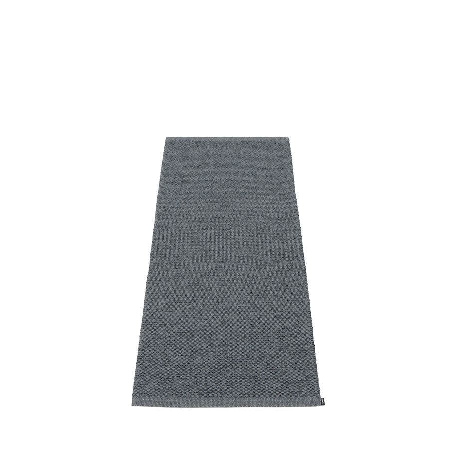 Svea Rug - Granit/Black Metallic