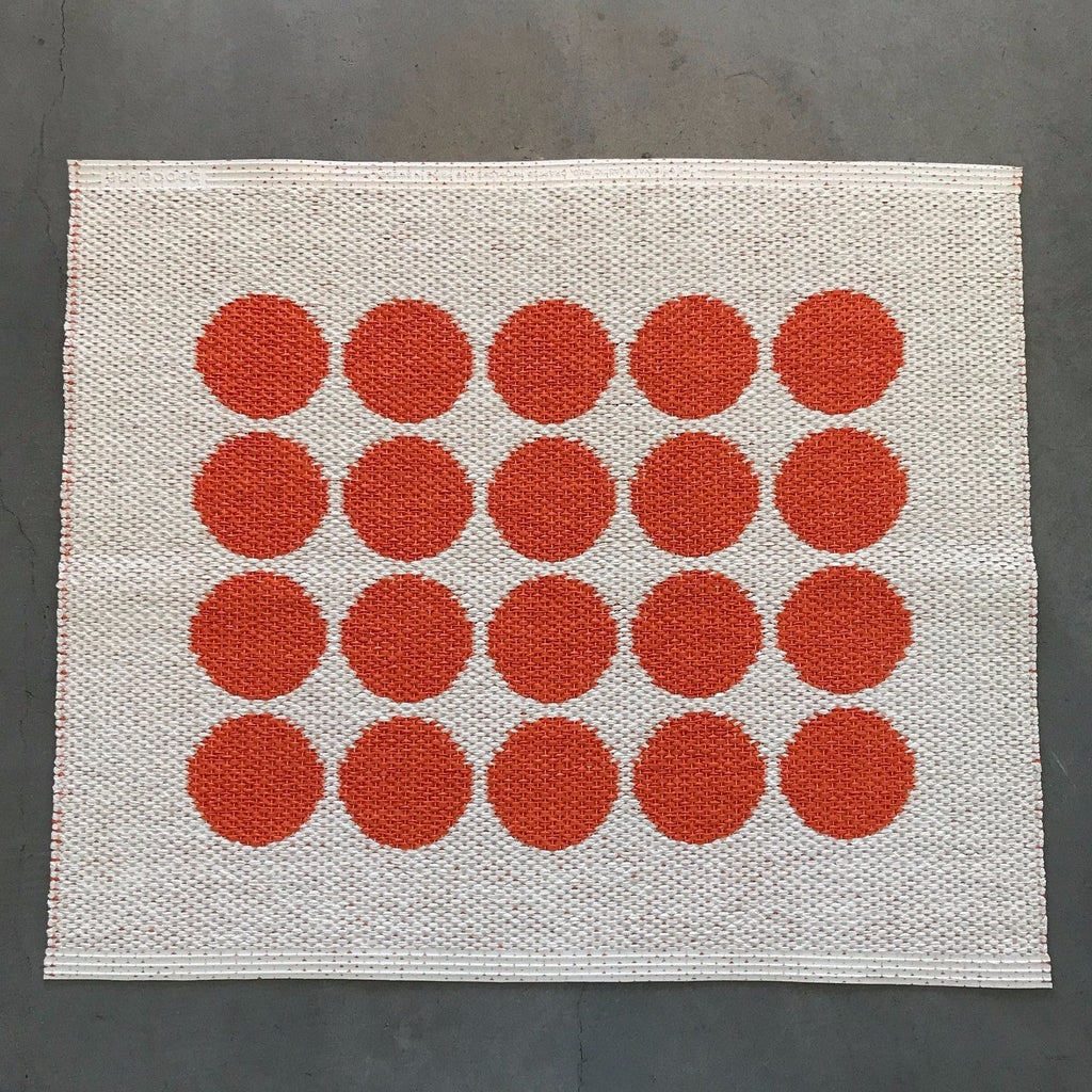 Fia Rug - Orange - Pelago Palm Springs EXCLUSIVE