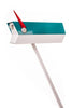 Mid-Century Modern Mailbox With Stand