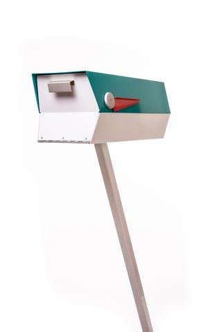 Mid Century Modern Mailbox With Stand