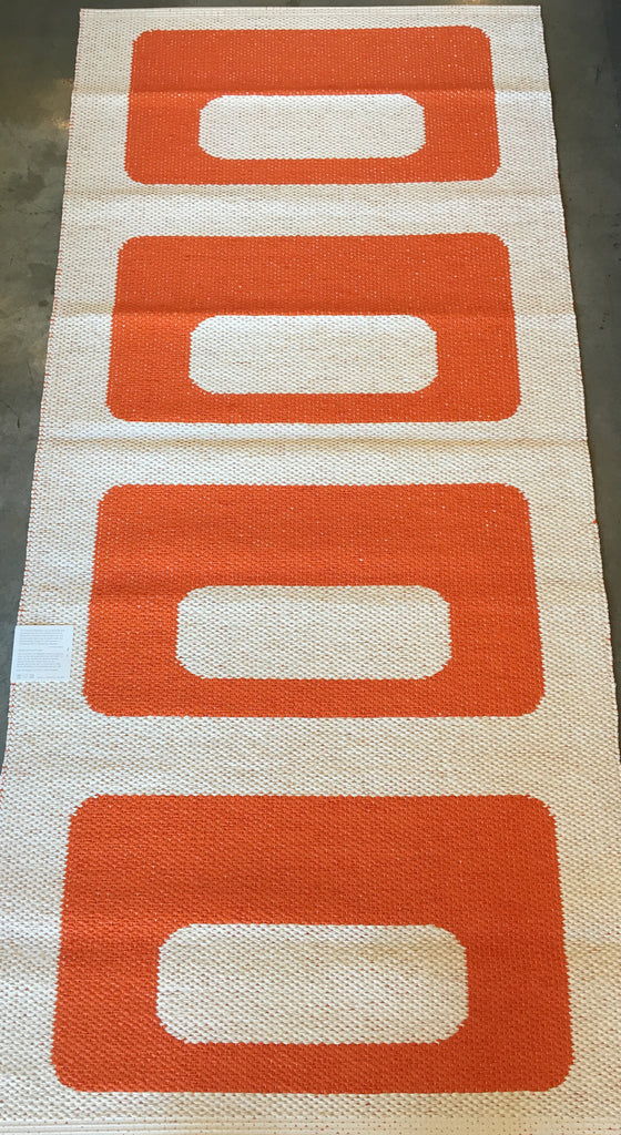 Owen Rug - Orange - Pelago Palm Springs EXCLUSIVE