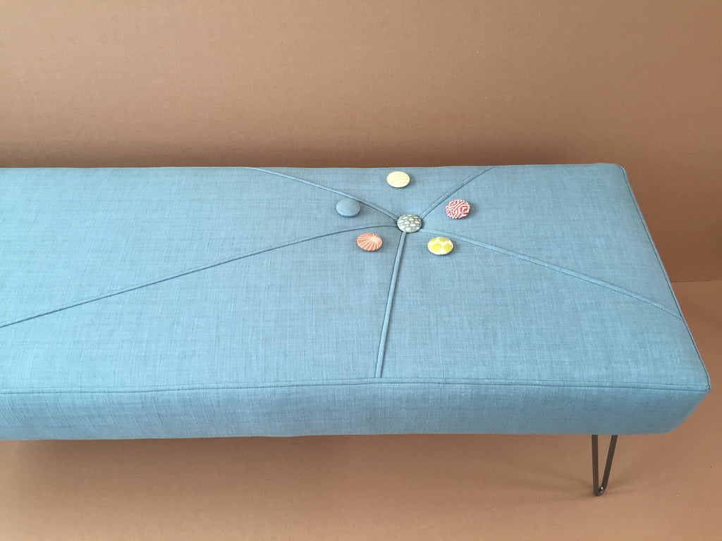Starburst One Button 4 Ft Bench