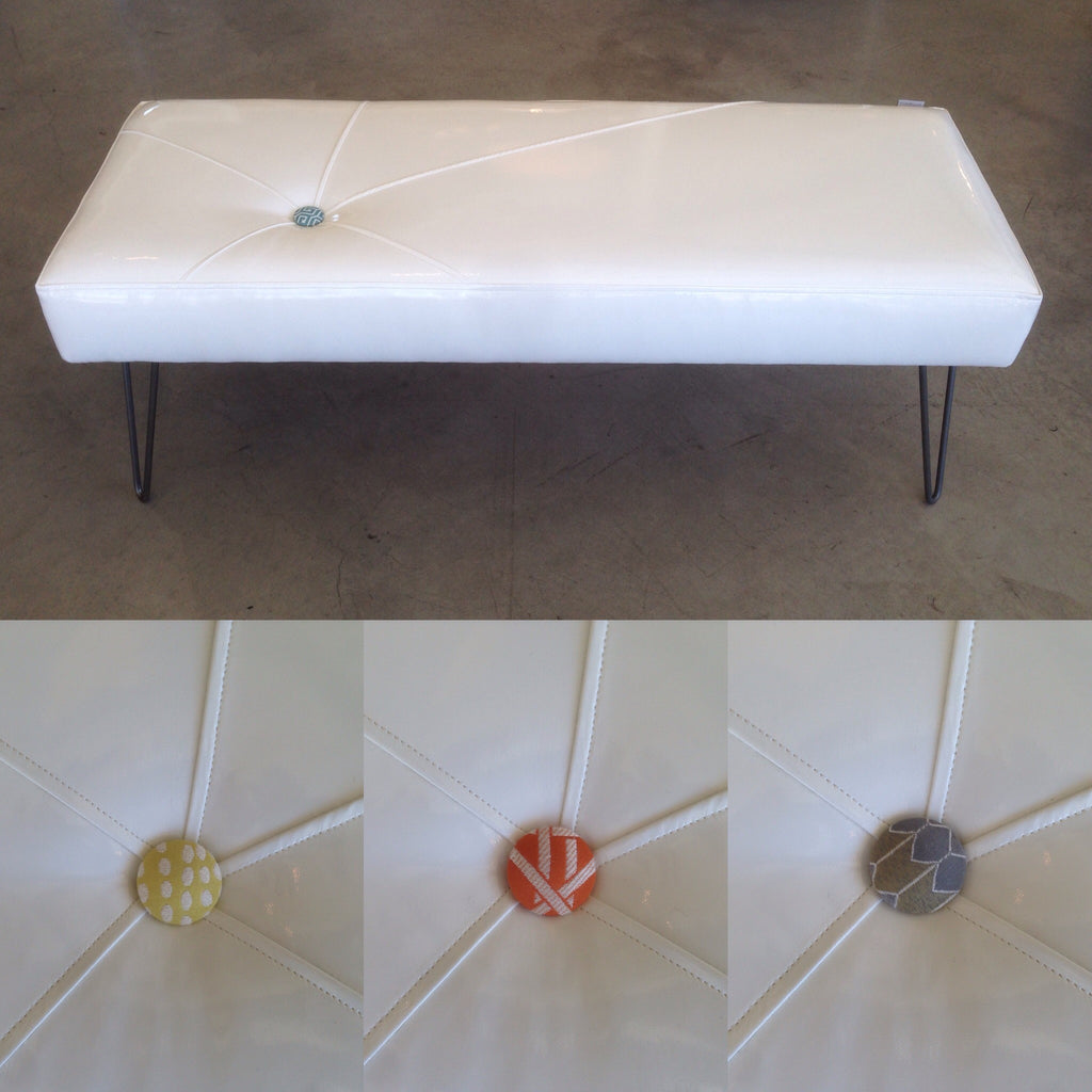 Starburst One Button 6 Ft Bench